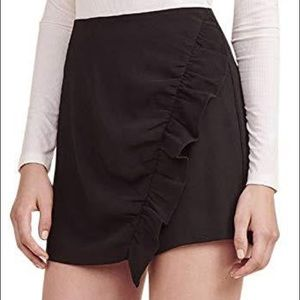 🌹NWT Cupcakes and Cashmere Black Ruffle Skirt